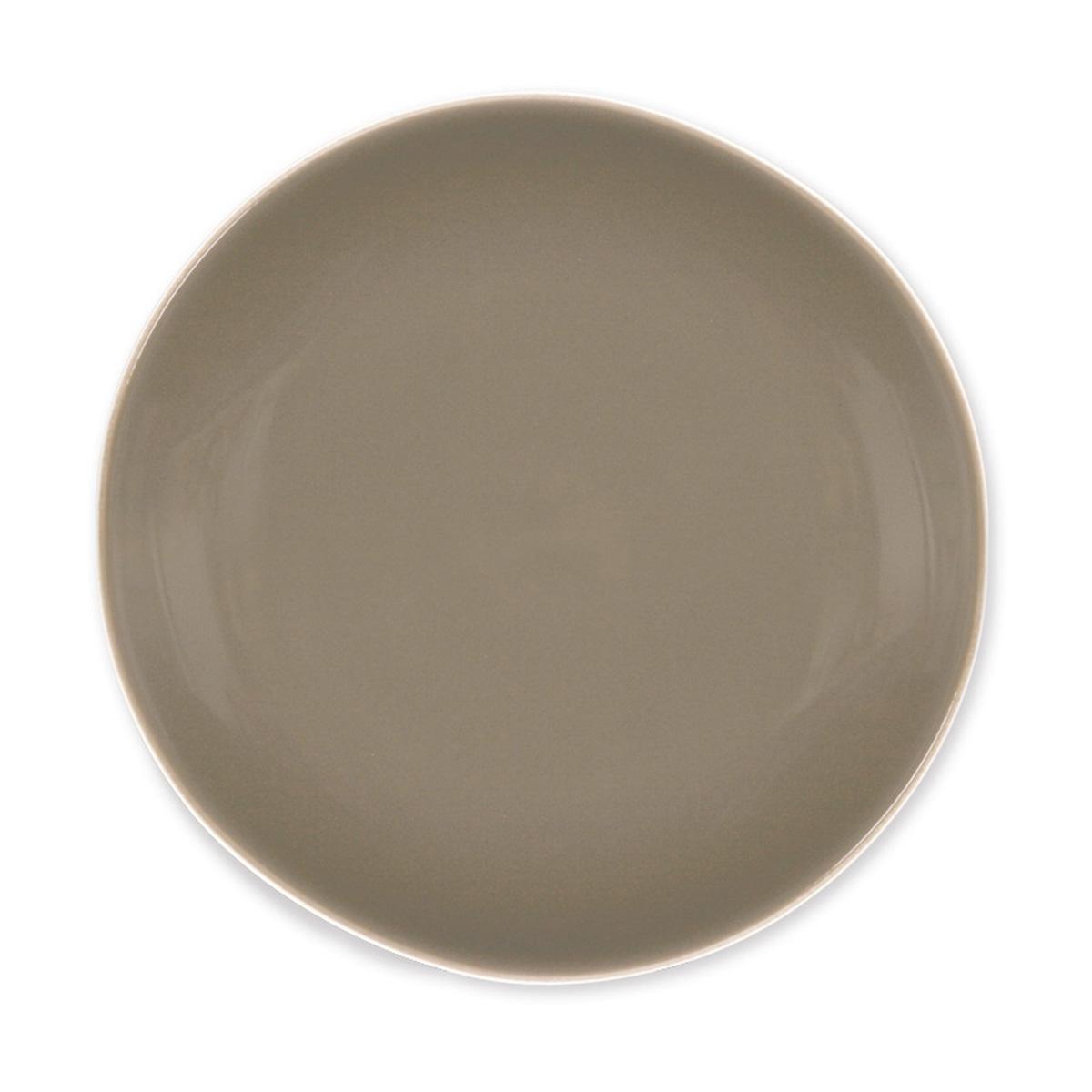 assiette dessert en fa ence vaisselle contemporaine bruno evrard. Black Bedroom Furniture Sets. Home Design Ideas