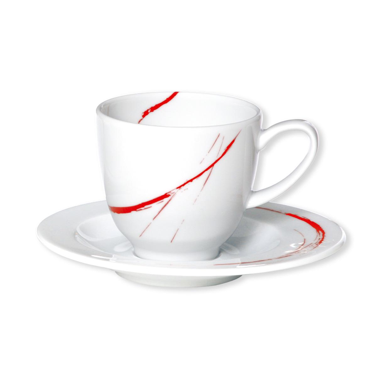 paire tasse expresso en porcelaine rouge 10cl bruno evrard. Black Bedroom Furniture Sets. Home Design Ideas