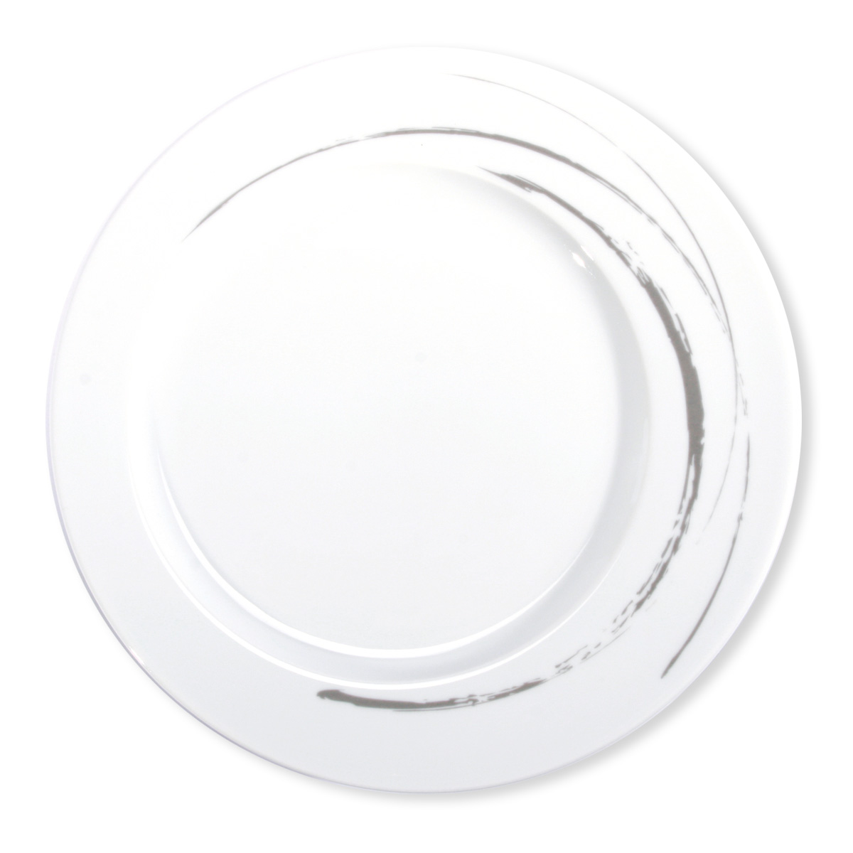 Assiette moderne en porcelaine blanche vaisselle design - Assiette originale moderne ...