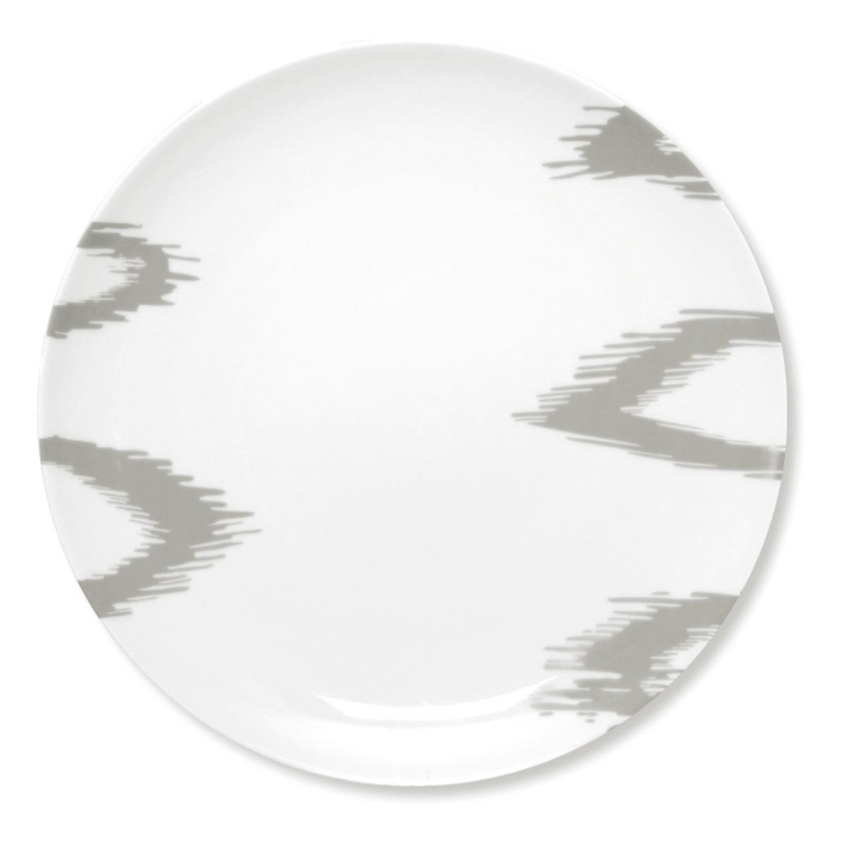 vaisselle style ethnique assiette tendance en porcelaine blanche. Black Bedroom Furniture Sets. Home Design Ideas