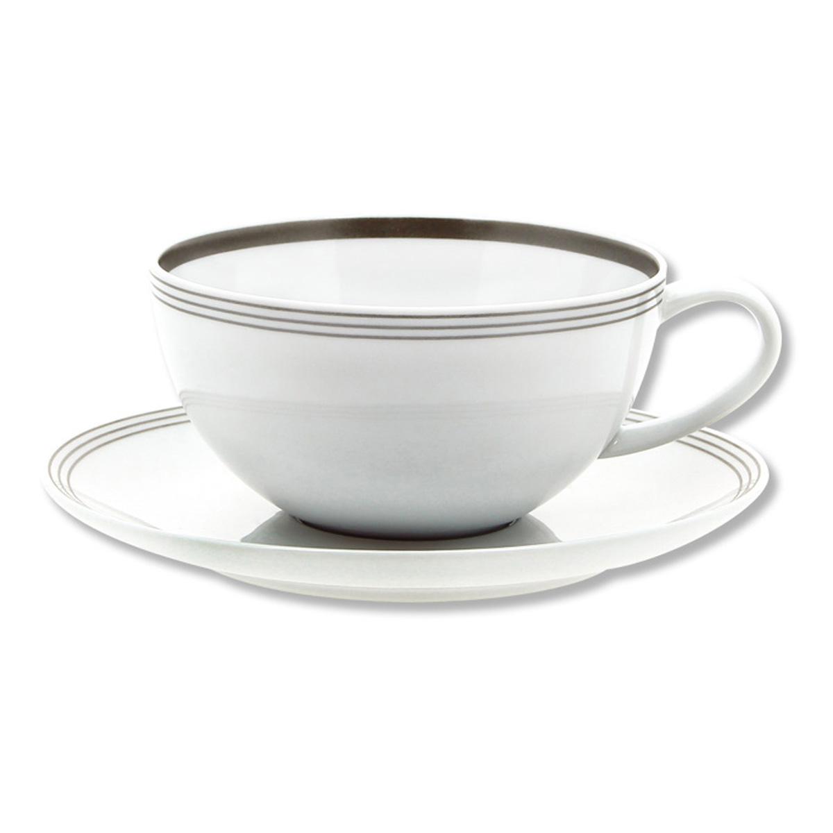 paire tasse th en porcelaine au design classique bruno evrard. Black Bedroom Furniture Sets. Home Design Ideas