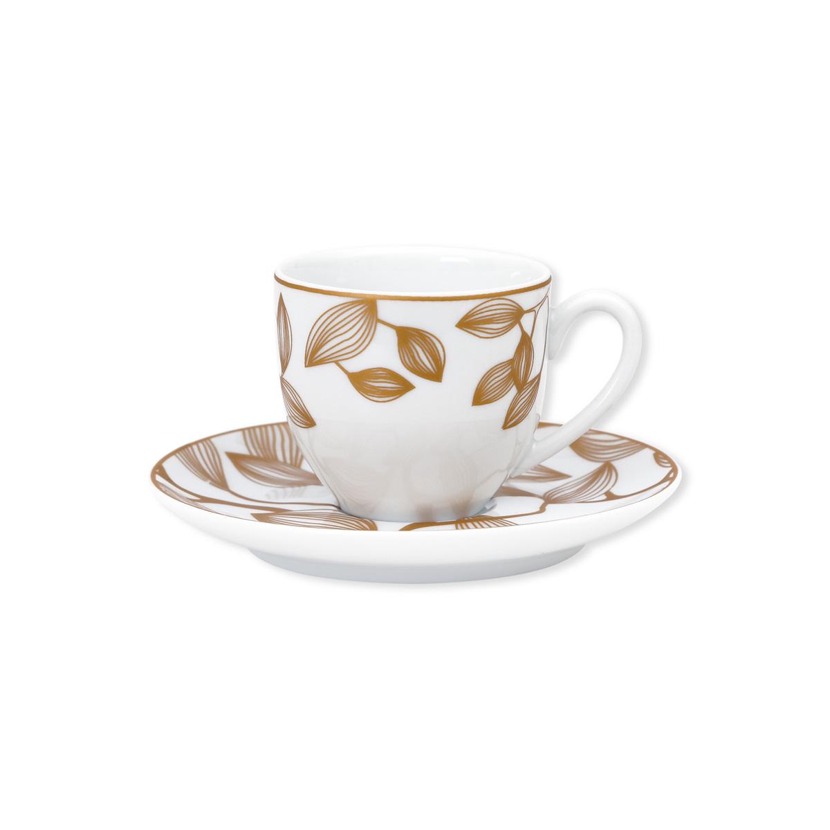 10cl En Porcelaine Coffret Tasse 6 De À Café ED2YHeW9I