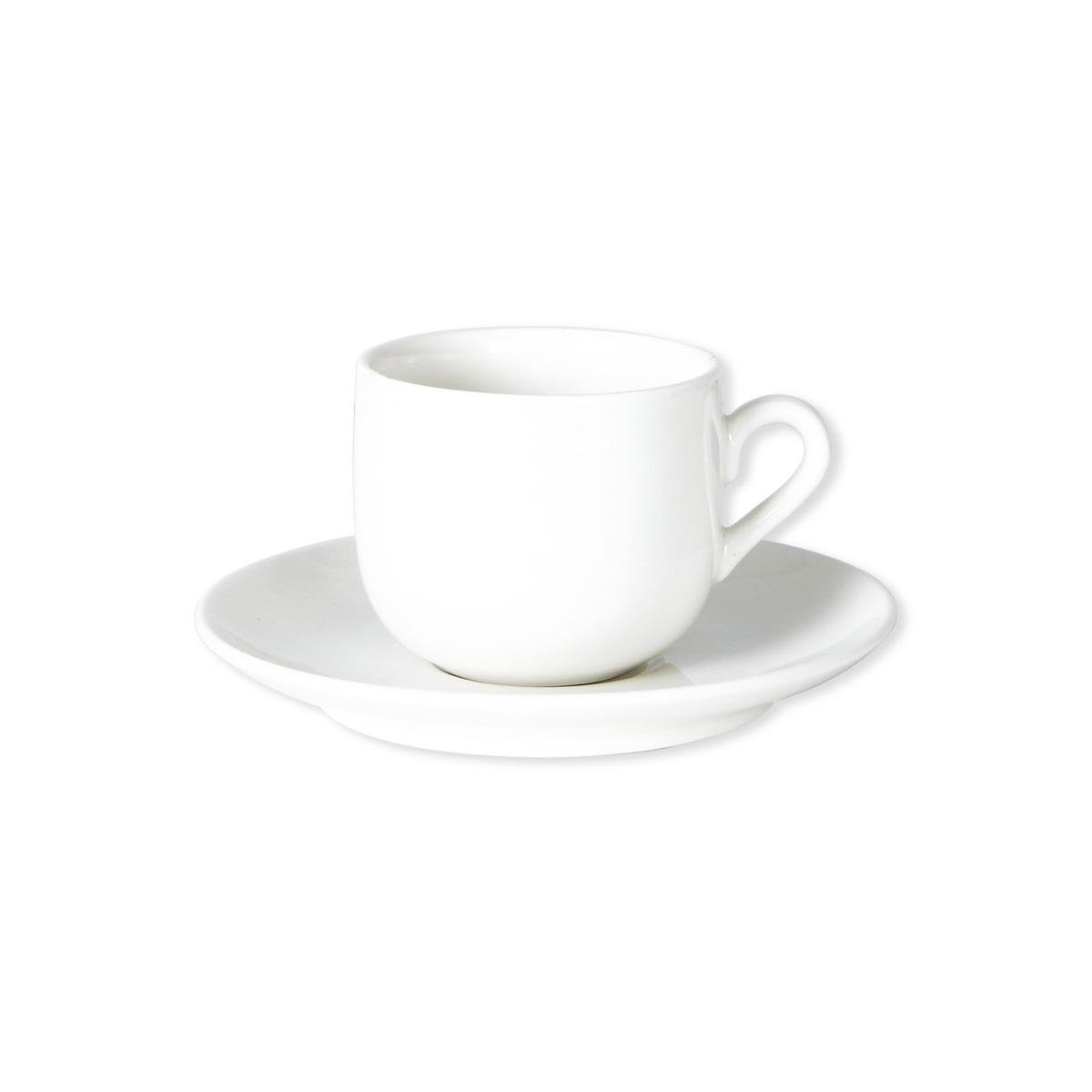 paire tasse caf en porcelaine color e blanc 11cl. Black Bedroom Furniture Sets. Home Design Ideas