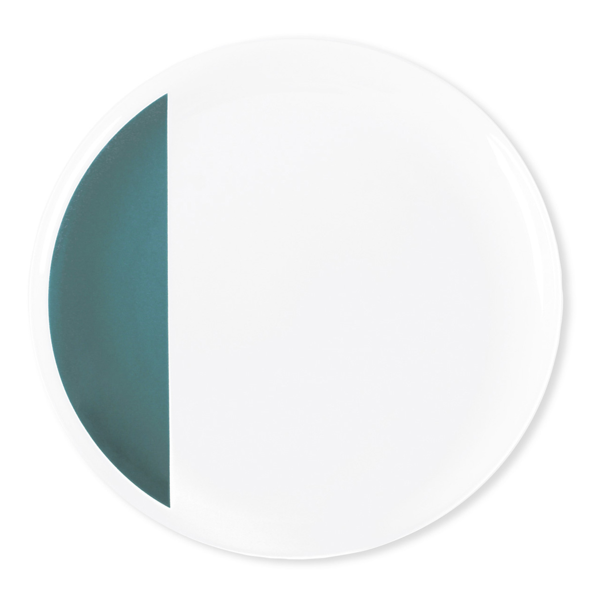 vaisselle bleu canard design assiette retro bruno evrard. Black Bedroom Furniture Sets. Home Design Ideas