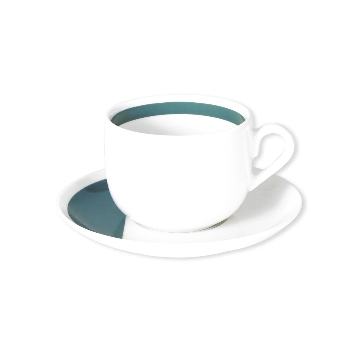 paire tasse design th en porcelaine vaisselle chic bruno evrard. Black Bedroom Furniture Sets. Home Design Ideas