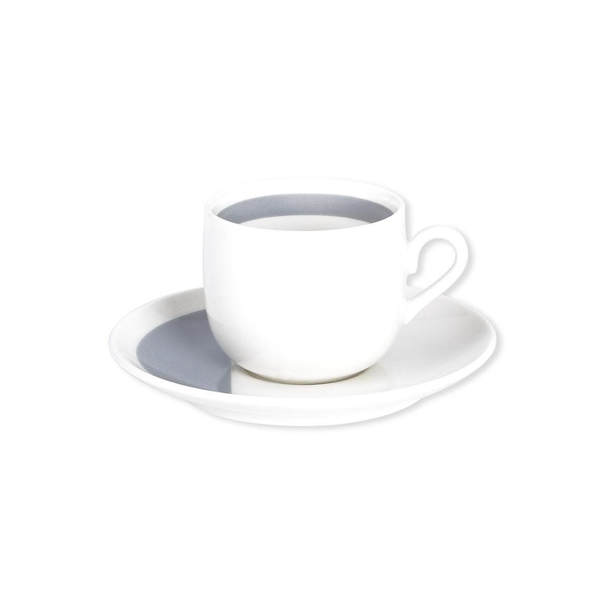 tasse caf design et soucoupe en porcelaine vaisselle tendance. Black Bedroom Furniture Sets. Home Design Ideas