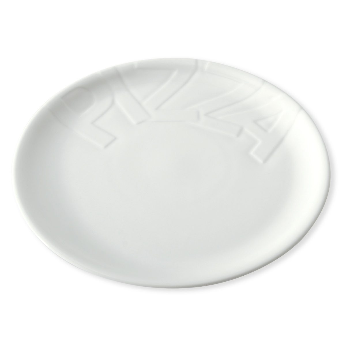 assiette pizza en porcelaine 32cm bruno evrard. Black Bedroom Furniture Sets. Home Design Ideas