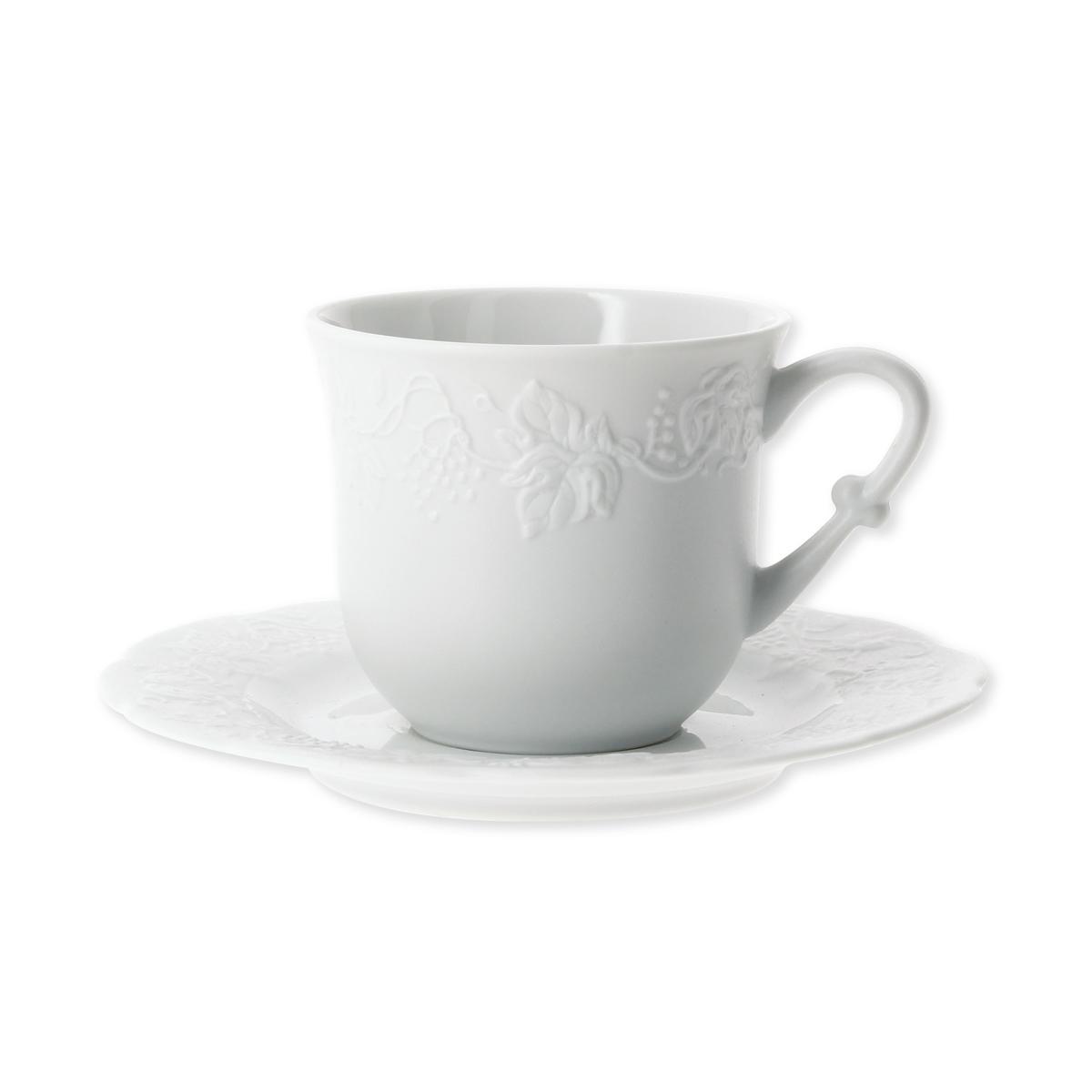 tasse th baroque en porcelaine vaisselle tendance bruno evrard. Black Bedroom Furniture Sets. Home Design Ideas