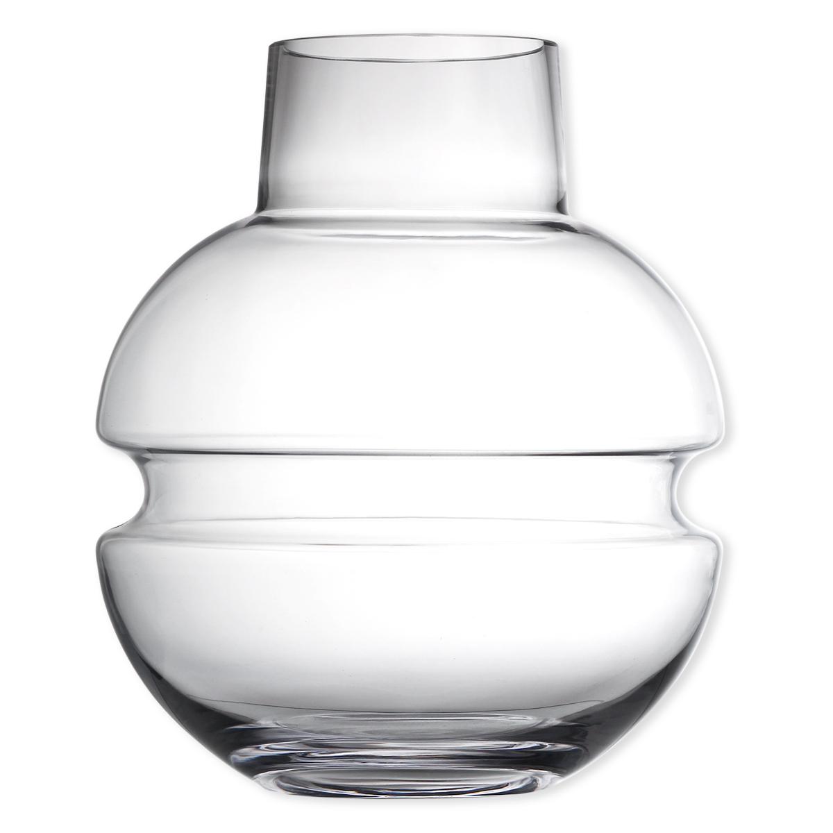 vase en verre souffl bouche 33cm vase d co design bruno evrard. Black Bedroom Furniture Sets. Home Design Ideas