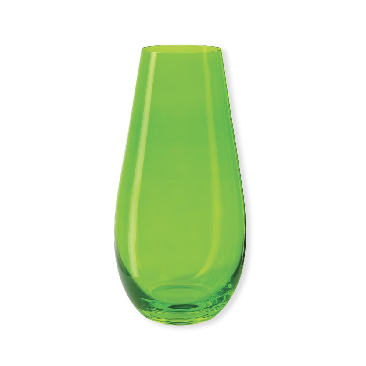 vase en verre color vert verrerie design et chic bruno evrard. Black Bedroom Furniture Sets. Home Design Ideas
