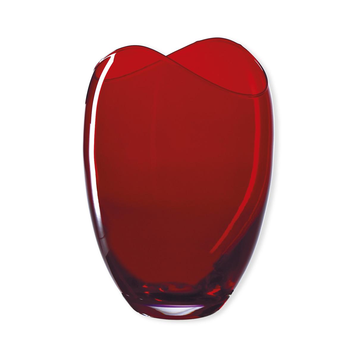 vase en verre rouge verrerie design et tendance bruno evrard. Black Bedroom Furniture Sets. Home Design Ideas