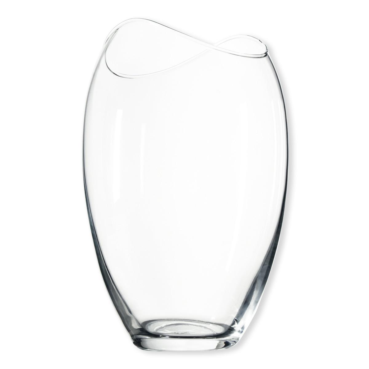 vase en verre transparent verrerie design et chic bruno evrard. Black Bedroom Furniture Sets. Home Design Ideas