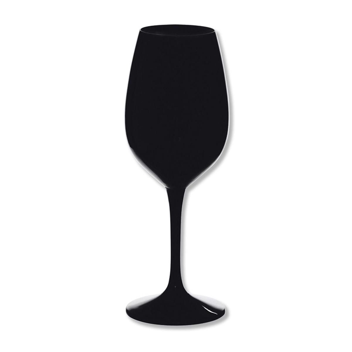 verre vin design verrerie color e noir 28cl. Black Bedroom Furniture Sets. Home Design Ideas