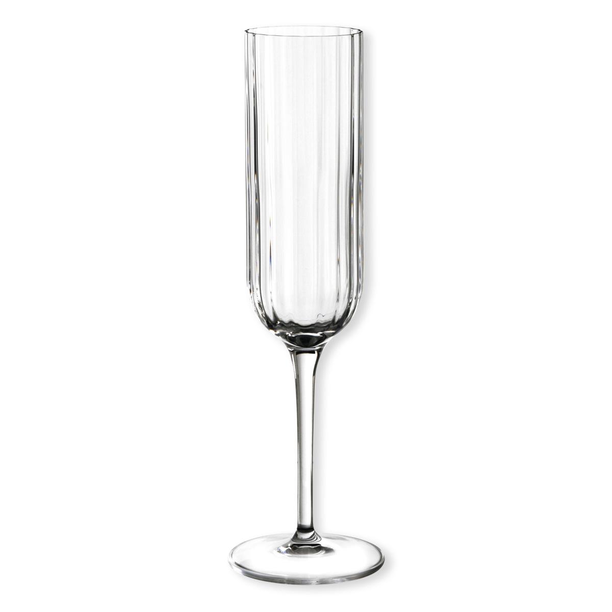 lot de 4 fl tes champagne design collection bach bruno evrard. Black Bedroom Furniture Sets. Home Design Ideas