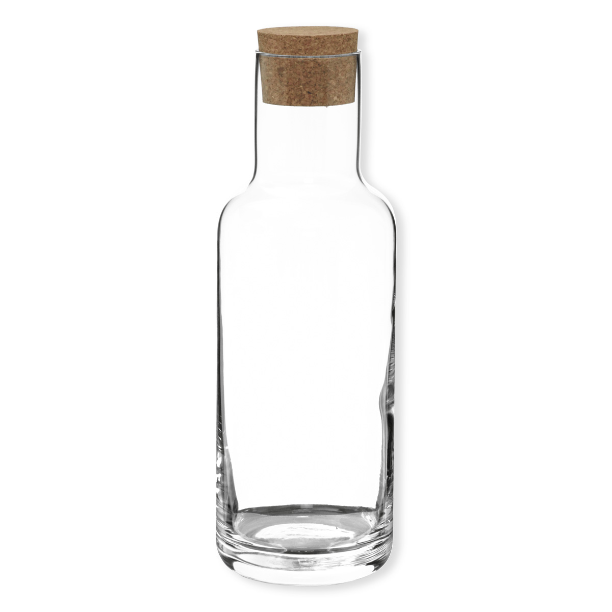 carafe en verre avec bouchon en li ge verrerie design bruno evrard. Black Bedroom Furniture Sets. Home Design Ideas