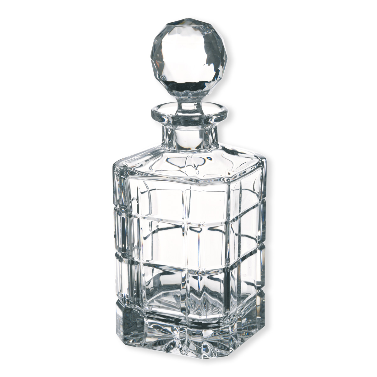 carafe whisky timesquare en cristal verrerie chic bruno evrard. Black Bedroom Furniture Sets. Home Design Ideas