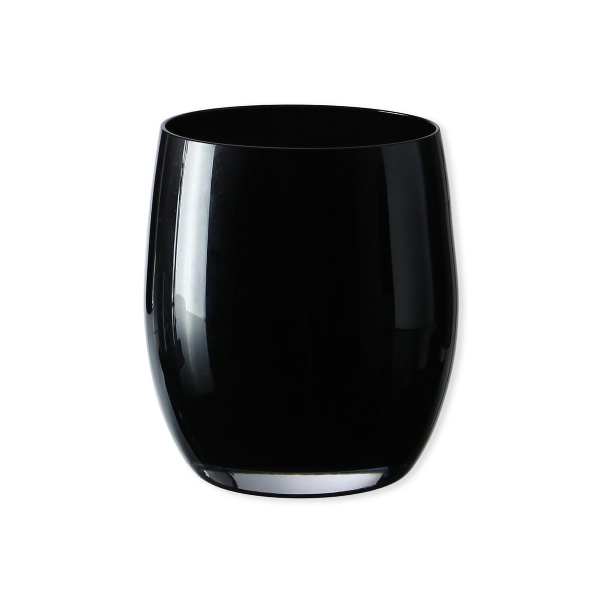 gobelet en verre color noir forme arrondie 33cl. Black Bedroom Furniture Sets. Home Design Ideas