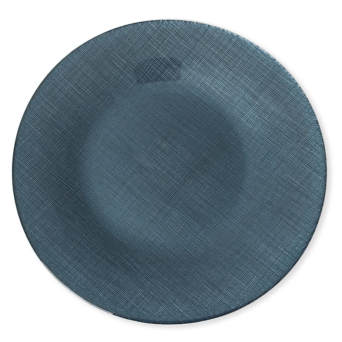 assiette plate en verre vaisselle chic et tendance bruno evrard. Black Bedroom Furniture Sets. Home Design Ideas