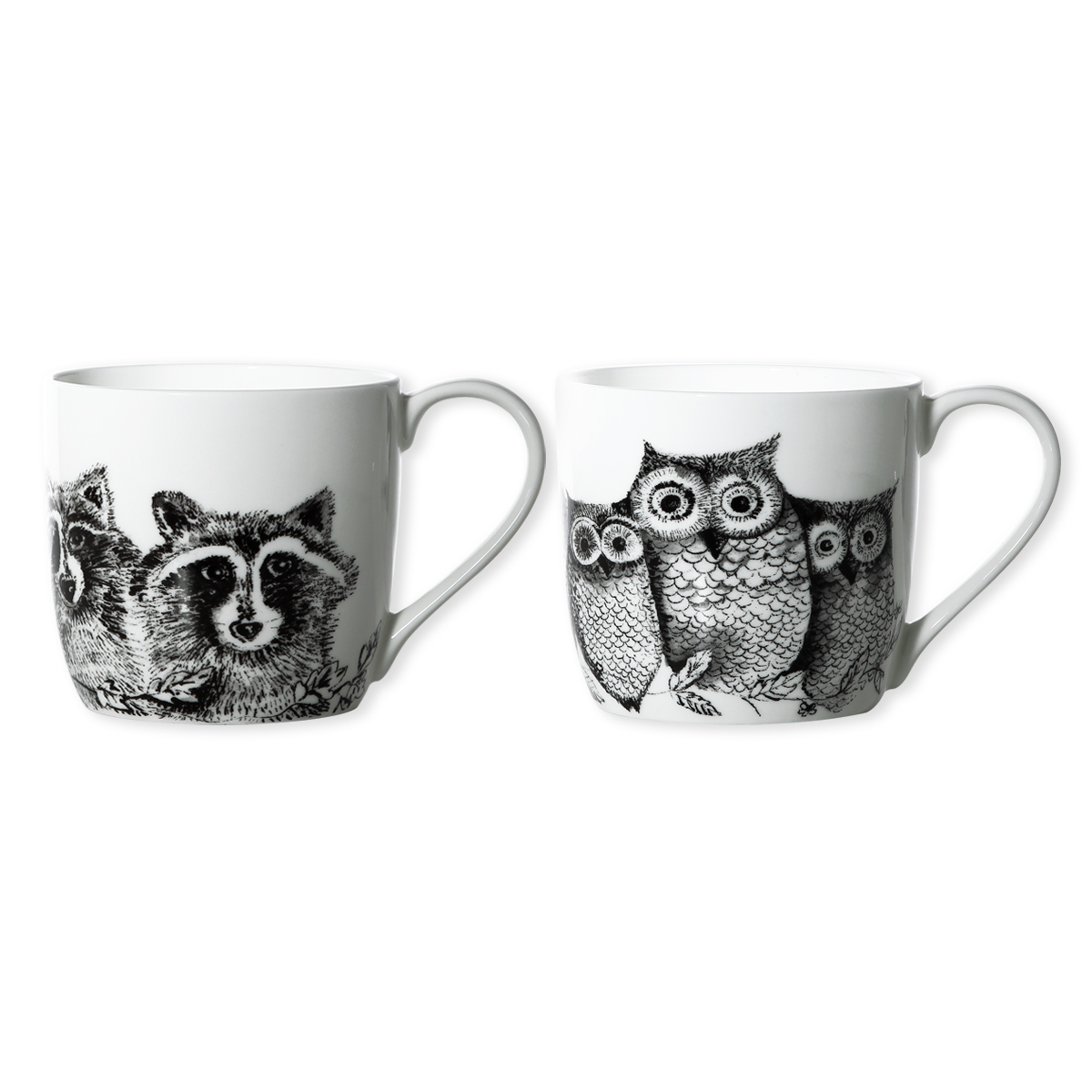 mug d cor animaux en porcelaine 30cl mugs tendance bruno evrard. Black Bedroom Furniture Sets. Home Design Ideas