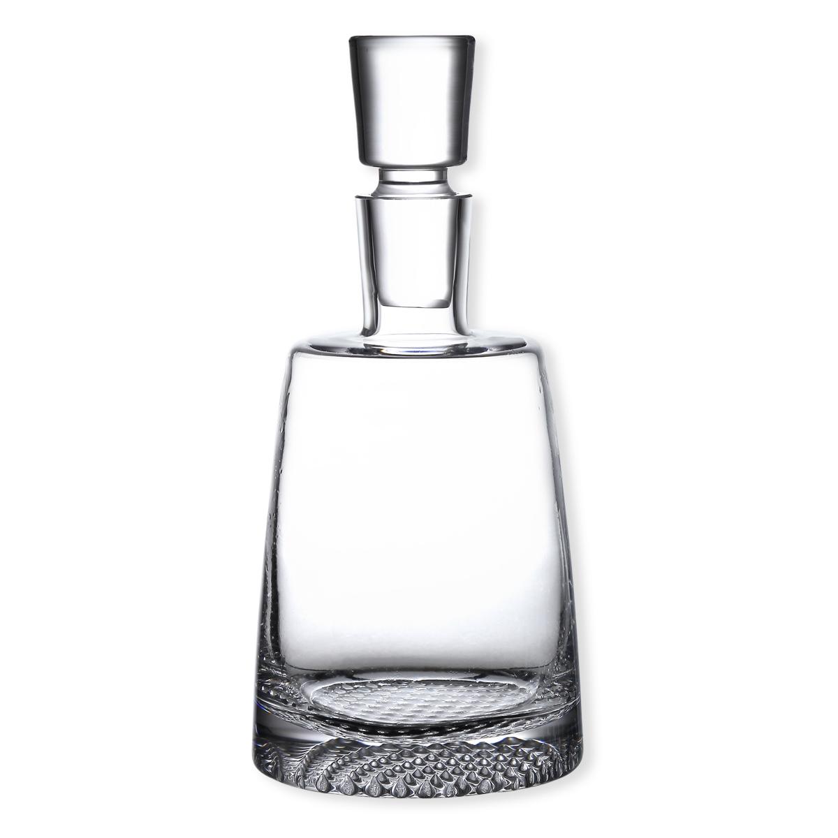 Carafe whisky en verre souffl bouche verrerie chic et design - Verre a eau maison du monde ...