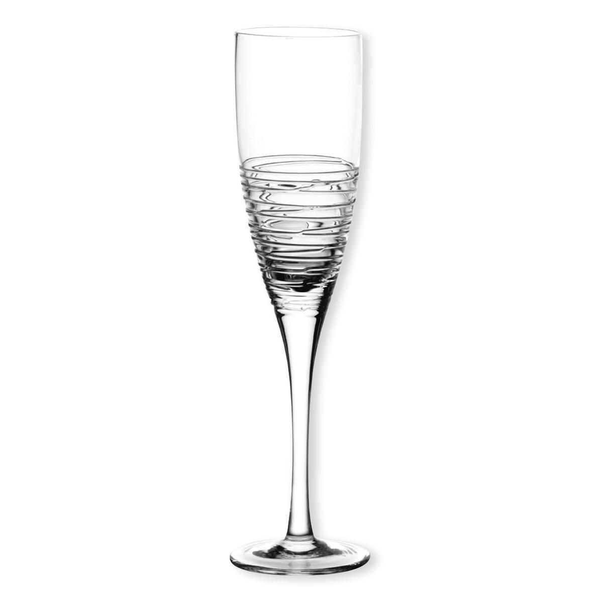 fl te champagne en verre souffl chic et tendance bruno evrard. Black Bedroom Furniture Sets. Home Design Ideas