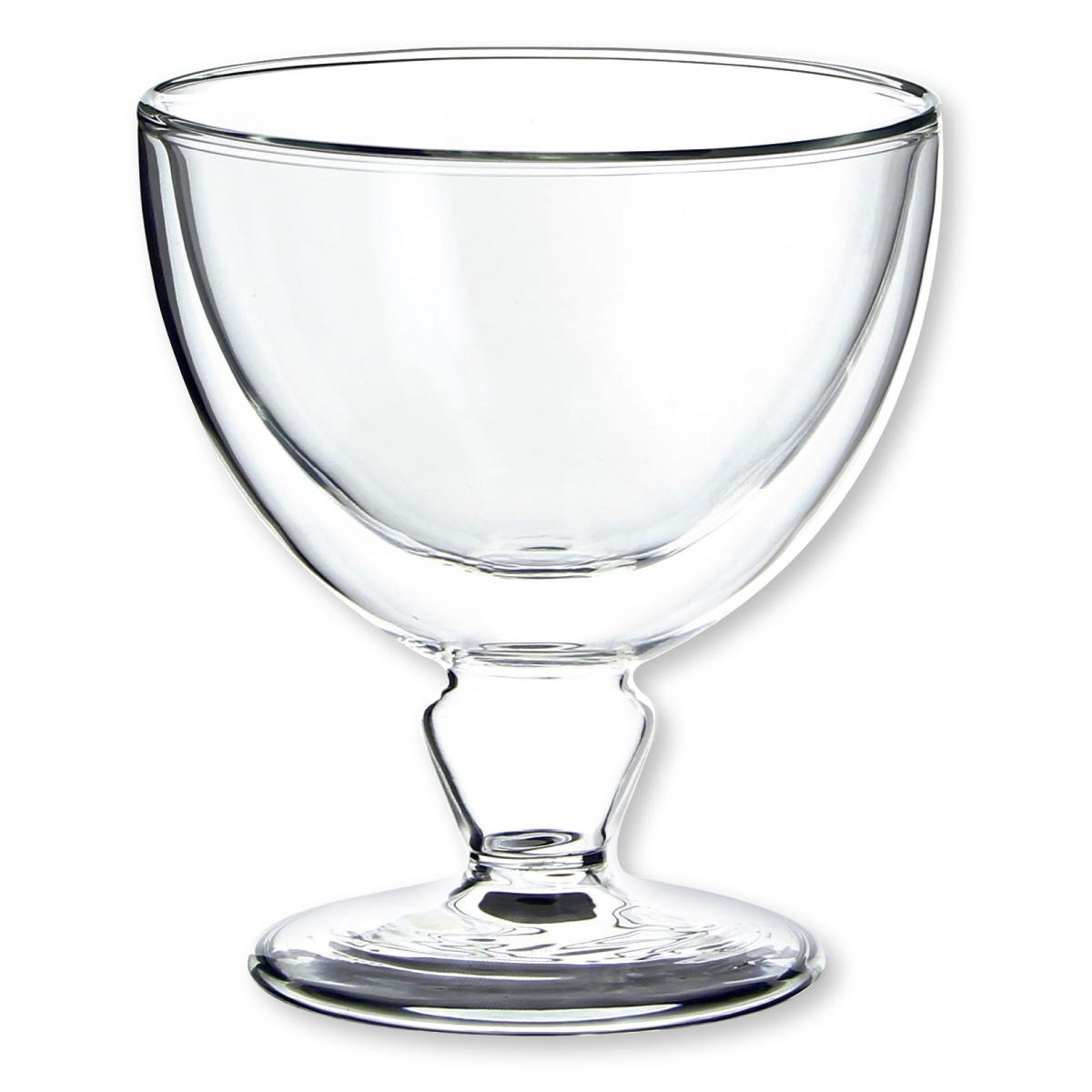 Coupelle en verre design verrerie chic et tendance for Grande glace sur pied