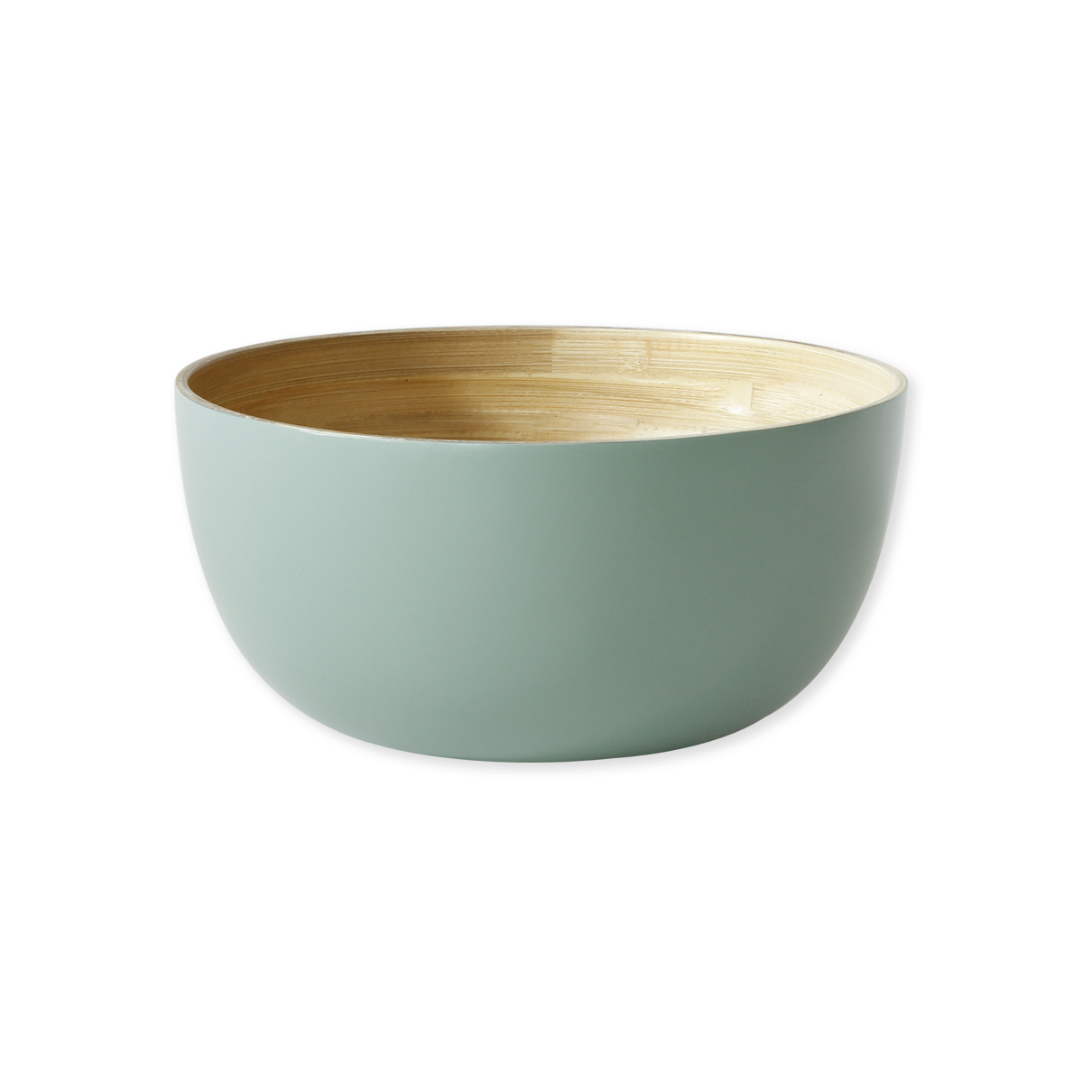 saladier en bambou vert saladiers chic bruno evrard. Black Bedroom Furniture Sets. Home Design Ideas