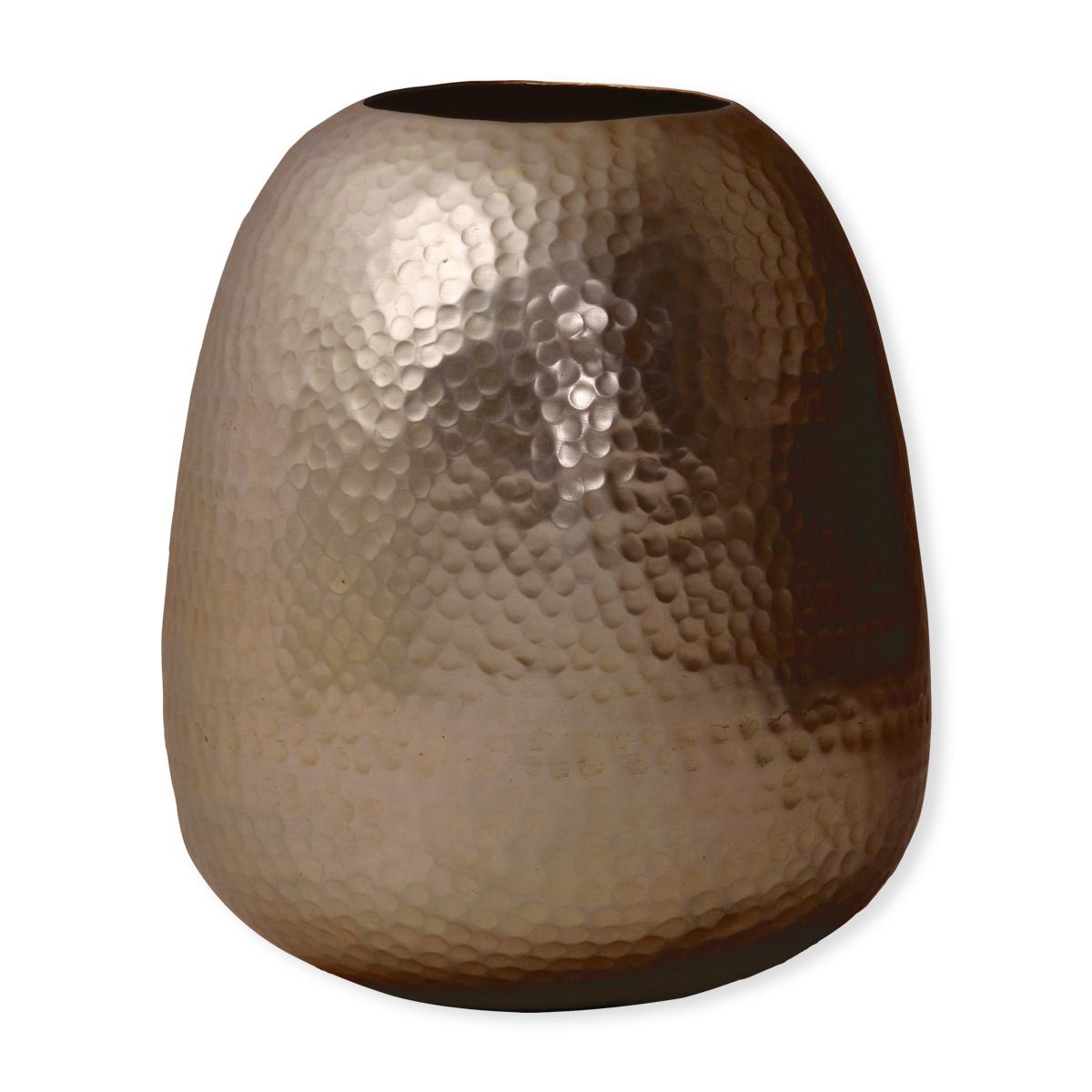 grand vase design en aluminium couleur bronze bruno evrard. Black Bedroom Furniture Sets. Home Design Ideas