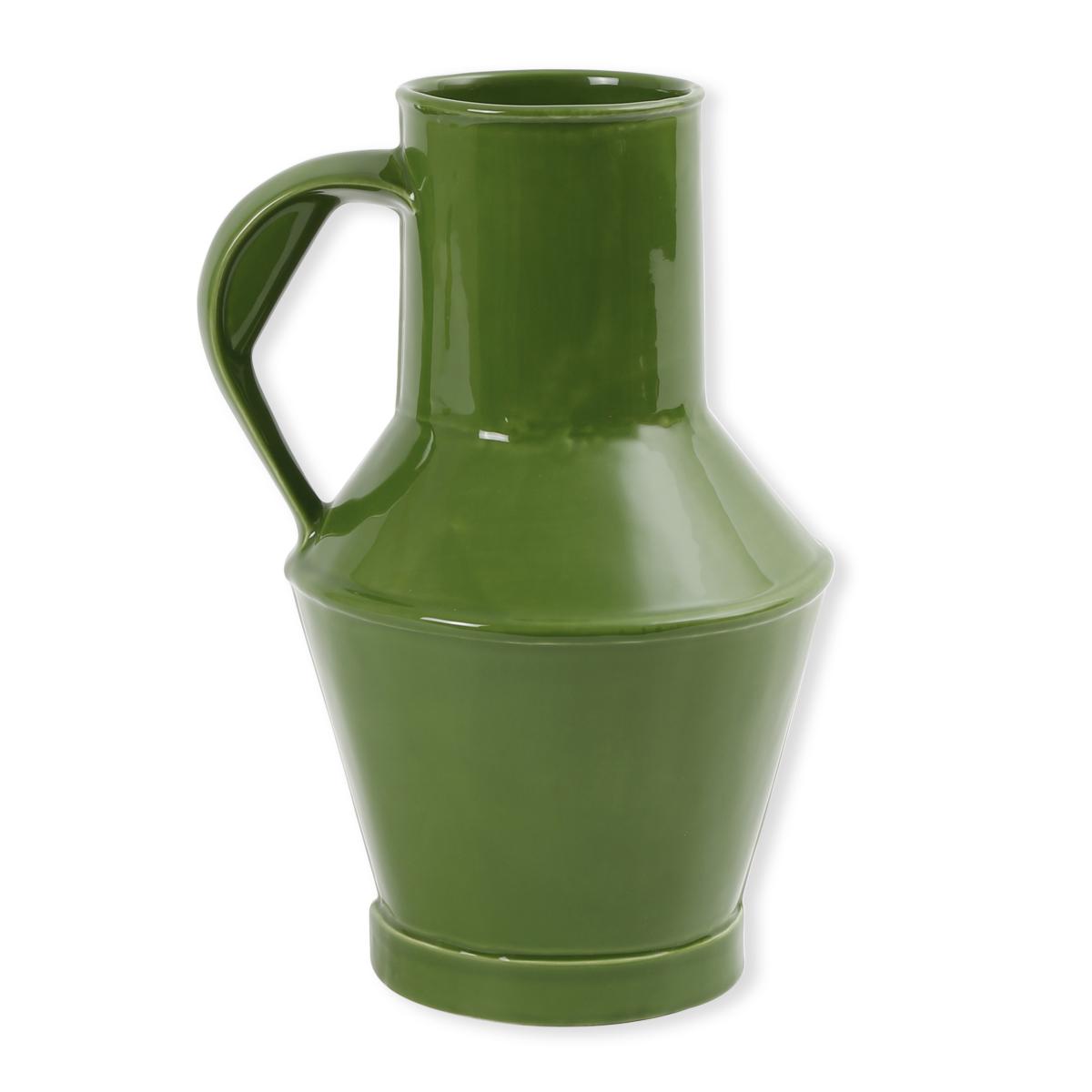 Vase en c ramique color e bleu turquoise objet deco bruno evrard - Objet deco bleu turquoise ...