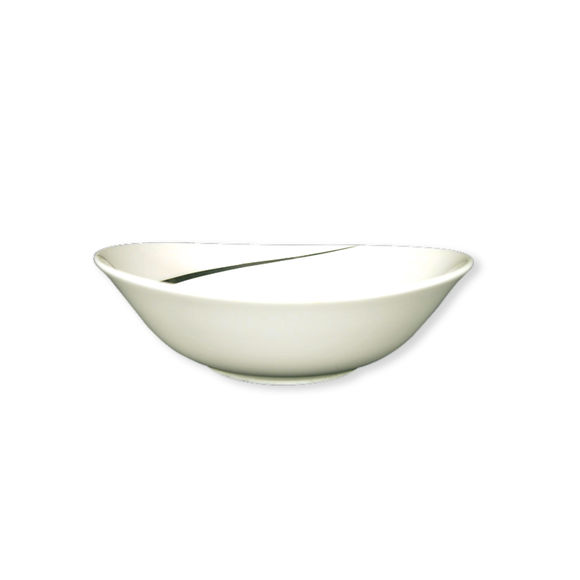 Coupelle ovale en porcelaine 15cm