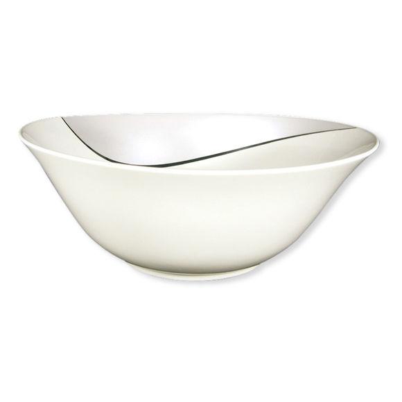 Saladier ovale en porcelaine 27cm
