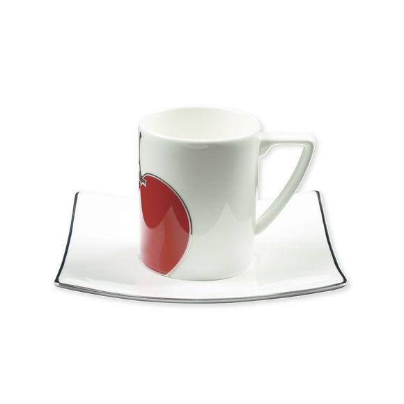 Tasse à café en porcelaine bone-china 9cl