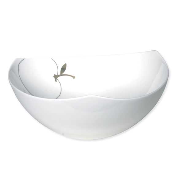 Saladier en porcelaine bone-china 24cm
