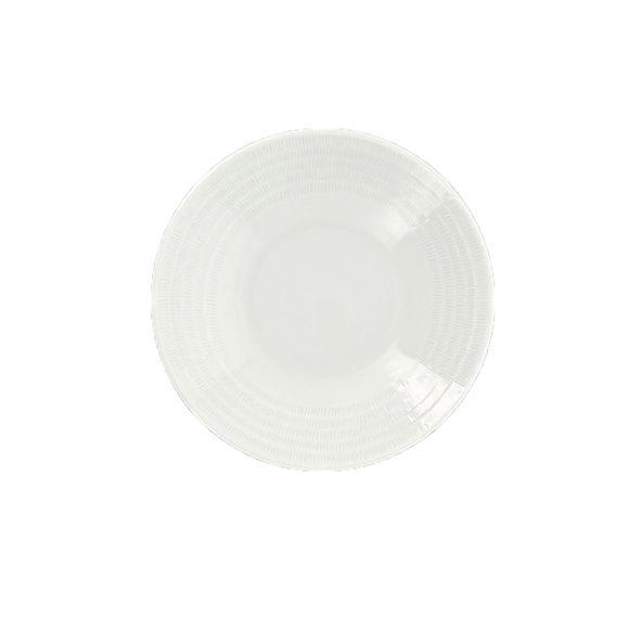 Assiette creuse en porcelaine 21,5cm
