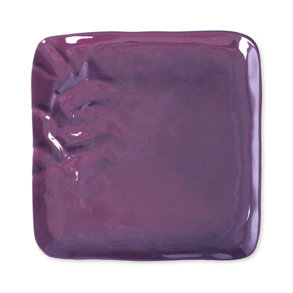 Assiette plate carrée en porcelaine 27cm