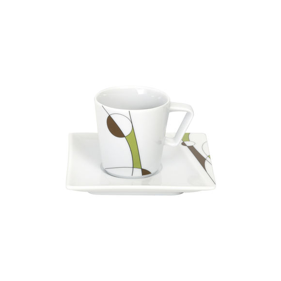 Tasse à café en porcelaine 9cl