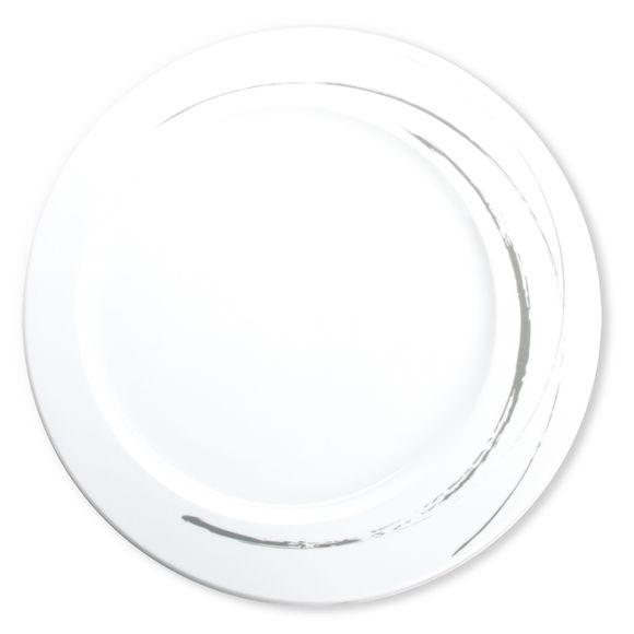 Plat rond plat en porcelaine 33cm