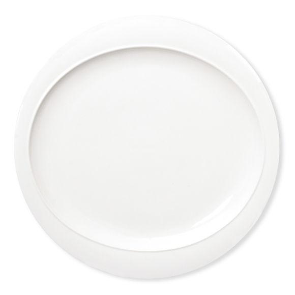 Assiette plate en porcelaine 26cm