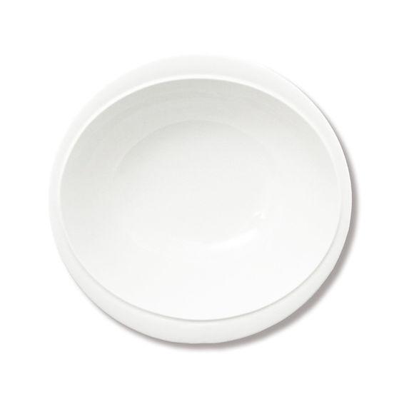 assiette creuse et design en porcelaine blanche bruno evrard. Black Bedroom Furniture Sets. Home Design Ideas
