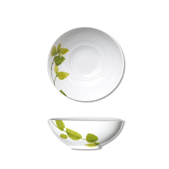 Assiette creuse en porcelaine 17cm