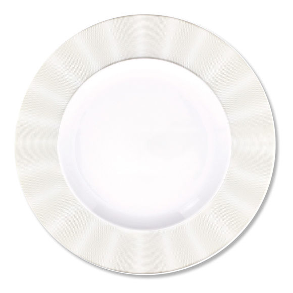 Assiette plate en porcelaine 28cm