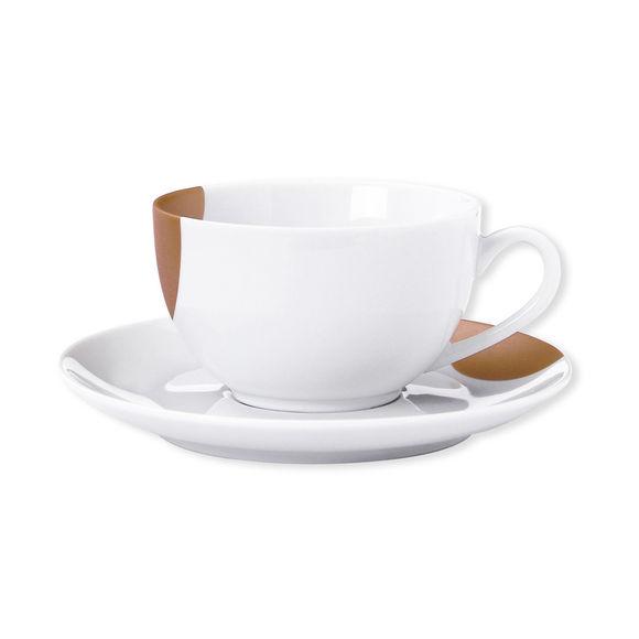 Tasse à thé en porcelaine 20cl - Coffret de 6