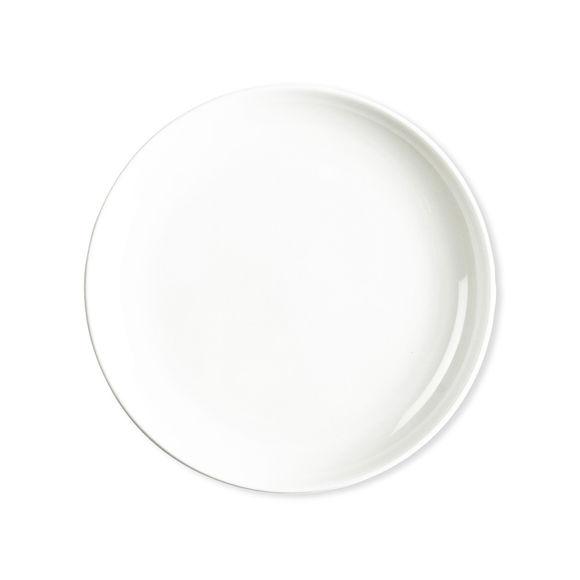 assiette creuse et blanche vaisselle chic et design bruno evrard. Black Bedroom Furniture Sets. Home Design Ideas