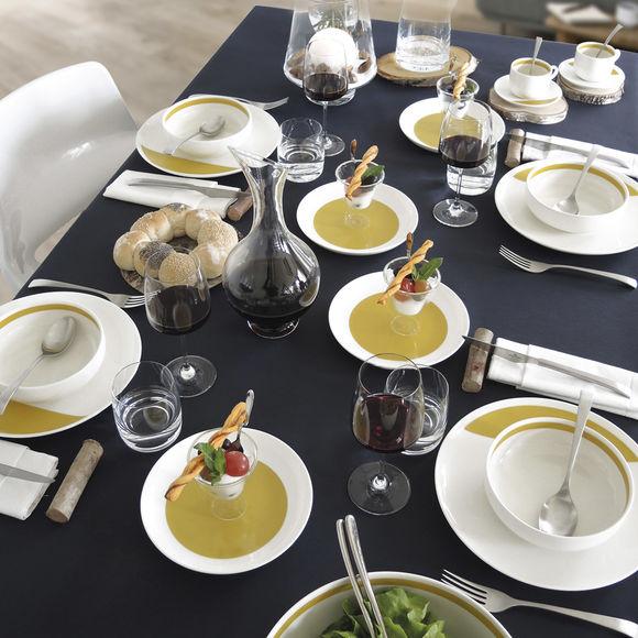 assiette creuse couleur jaune moutarde vaisselle design et tendance. Black Bedroom Furniture Sets. Home Design Ideas