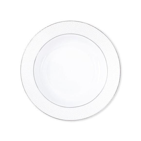 Assiette creuse en porcelaine 22cm