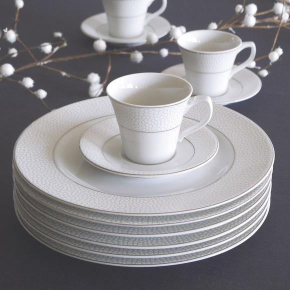 assiette dessert 21cm design et originale aux motifs. Black Bedroom Furniture Sets. Home Design Ideas
