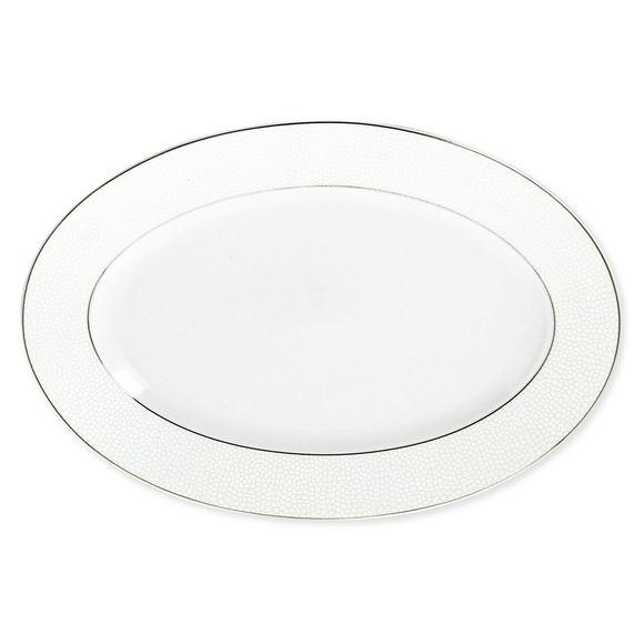 Plat ovale en porcelaine 36cm