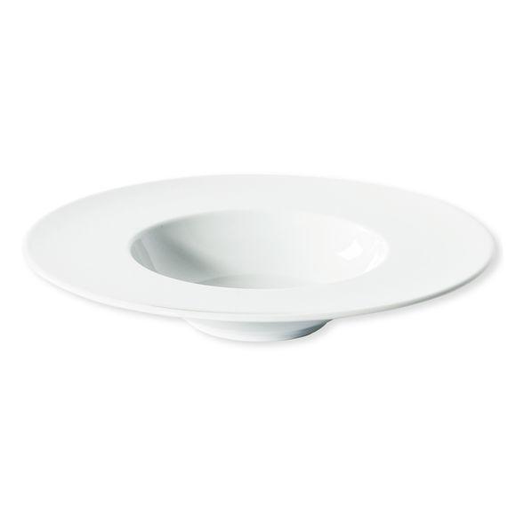 Assiette à risotto blanche en porcelaine 27cm