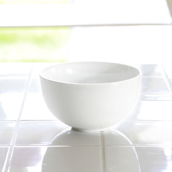 Saladier rond en porcelaine blanche 19cm vaisselle - Saladier porcelaine blanche ...