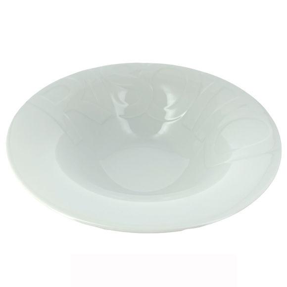 Assiette creuse à Risotto en porcelaine 26,5cm